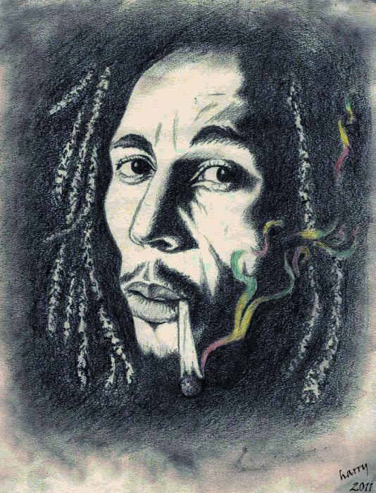Bob Marley by HARRY